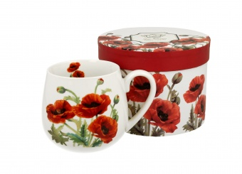 Pl Kubek Baryłka 430 Ml Classic Poppies